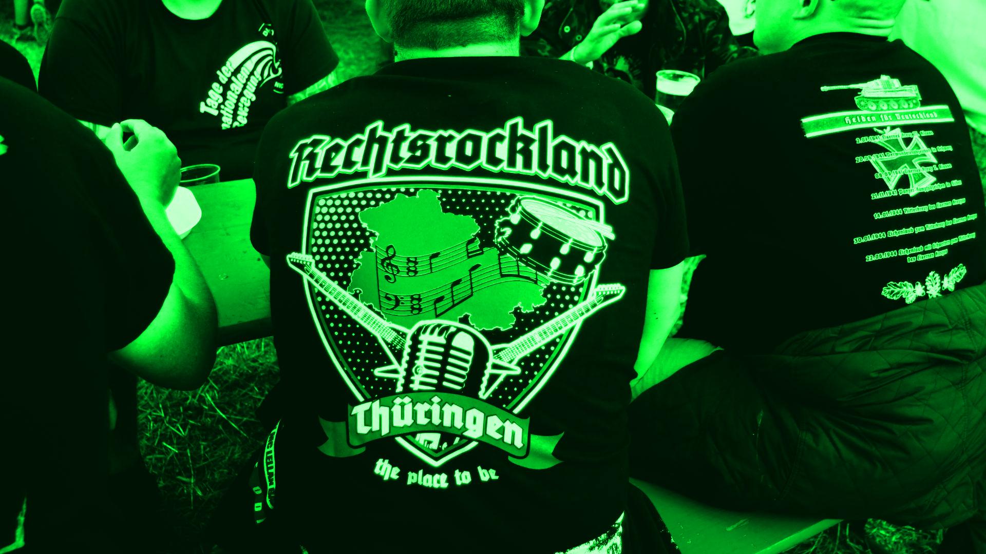 Rechtsrock-Konzerte in Deutschland –  Ausgangspunkt des Rechtsextremismus