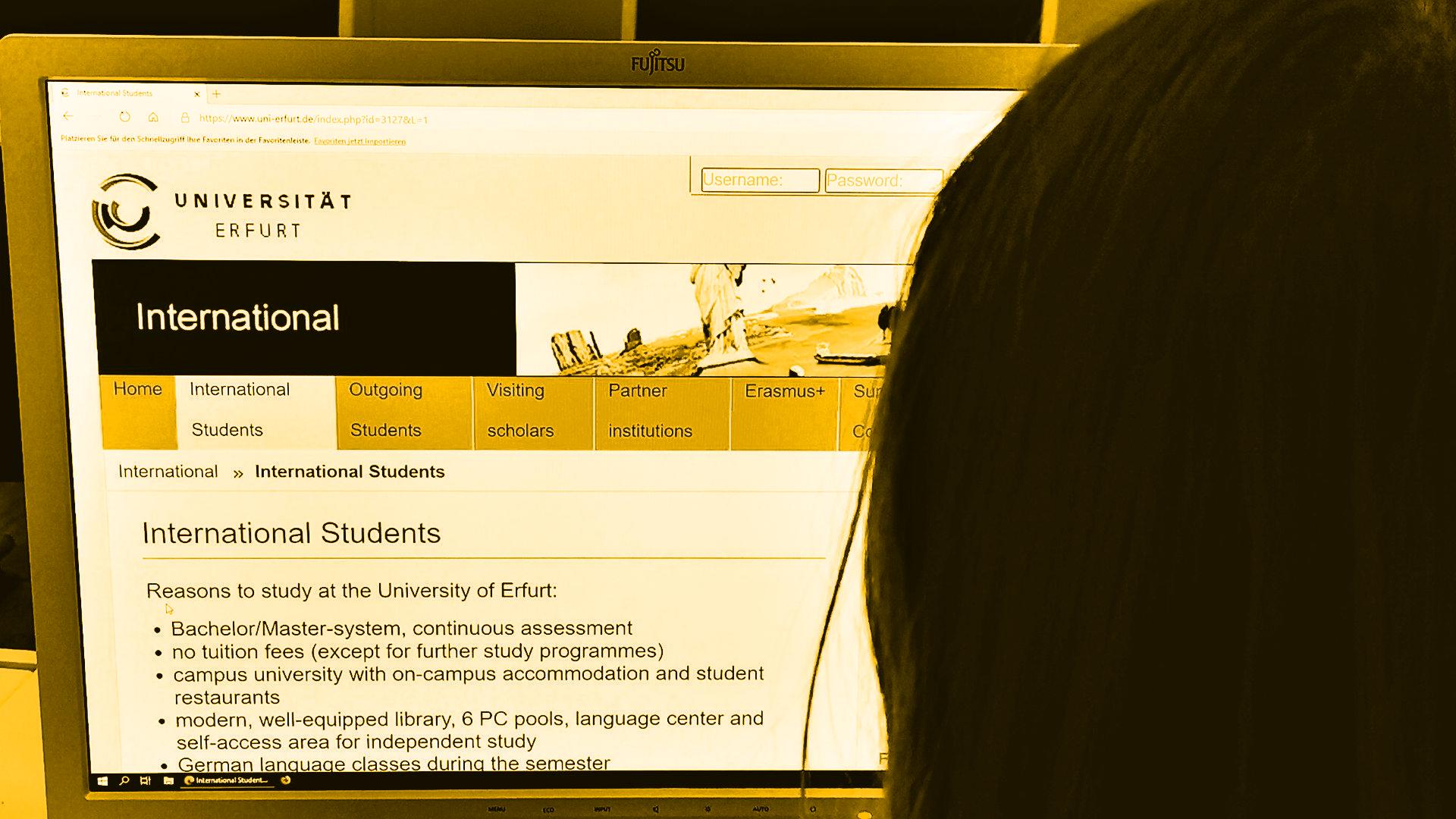 Internationalität an der Uni Erfurt wird groß geschrieben
