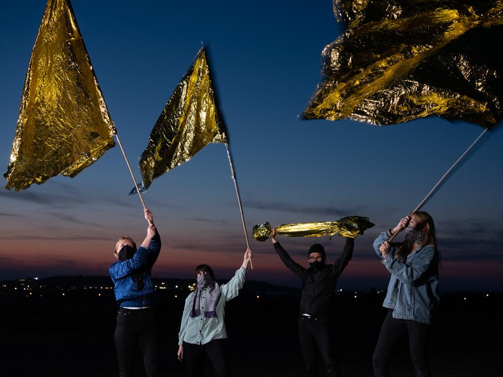 GOLD statt BRAUN – Glänzende Aktionstage Erfurt