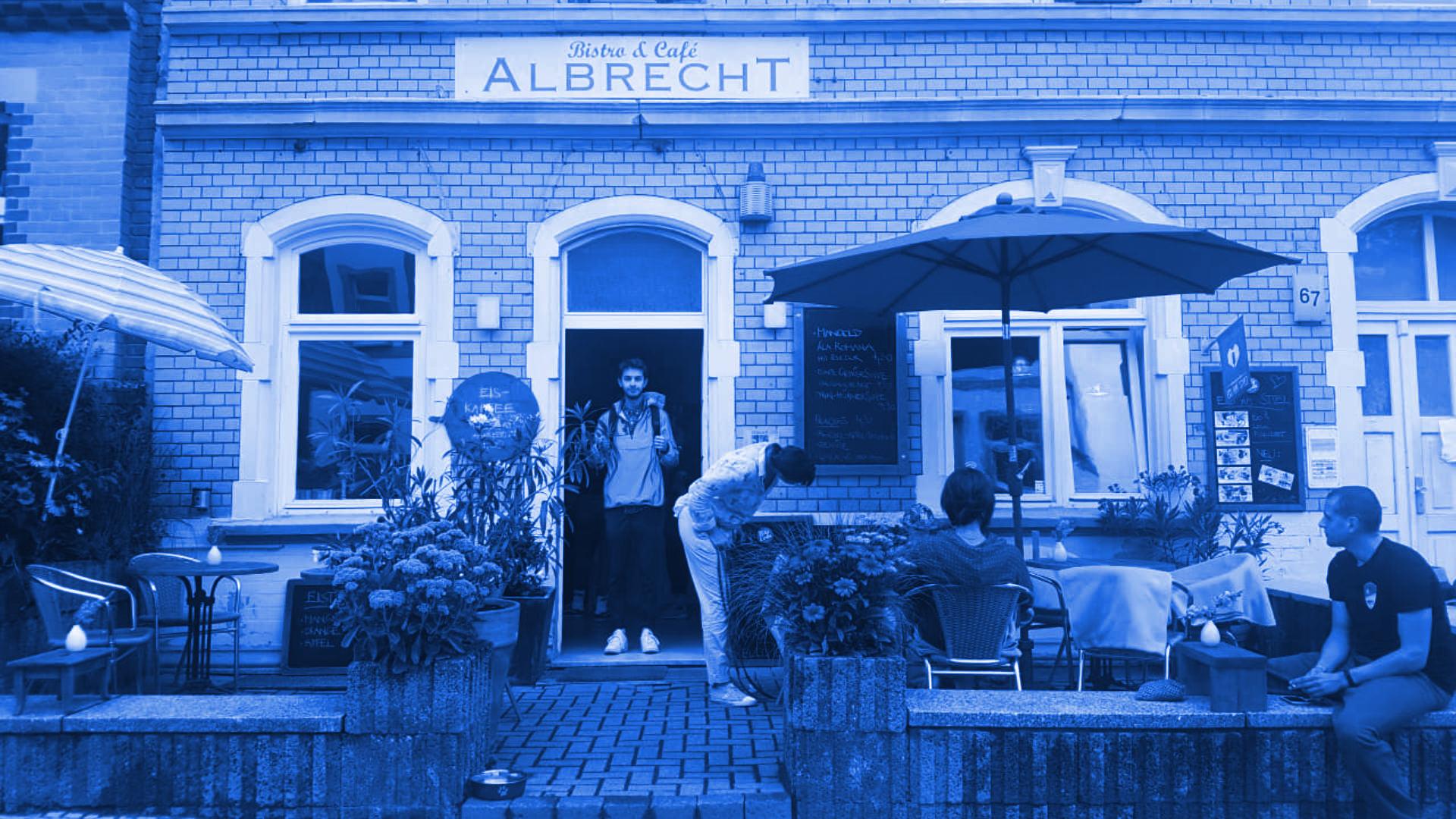 Ein Besuch im Café Albrecht