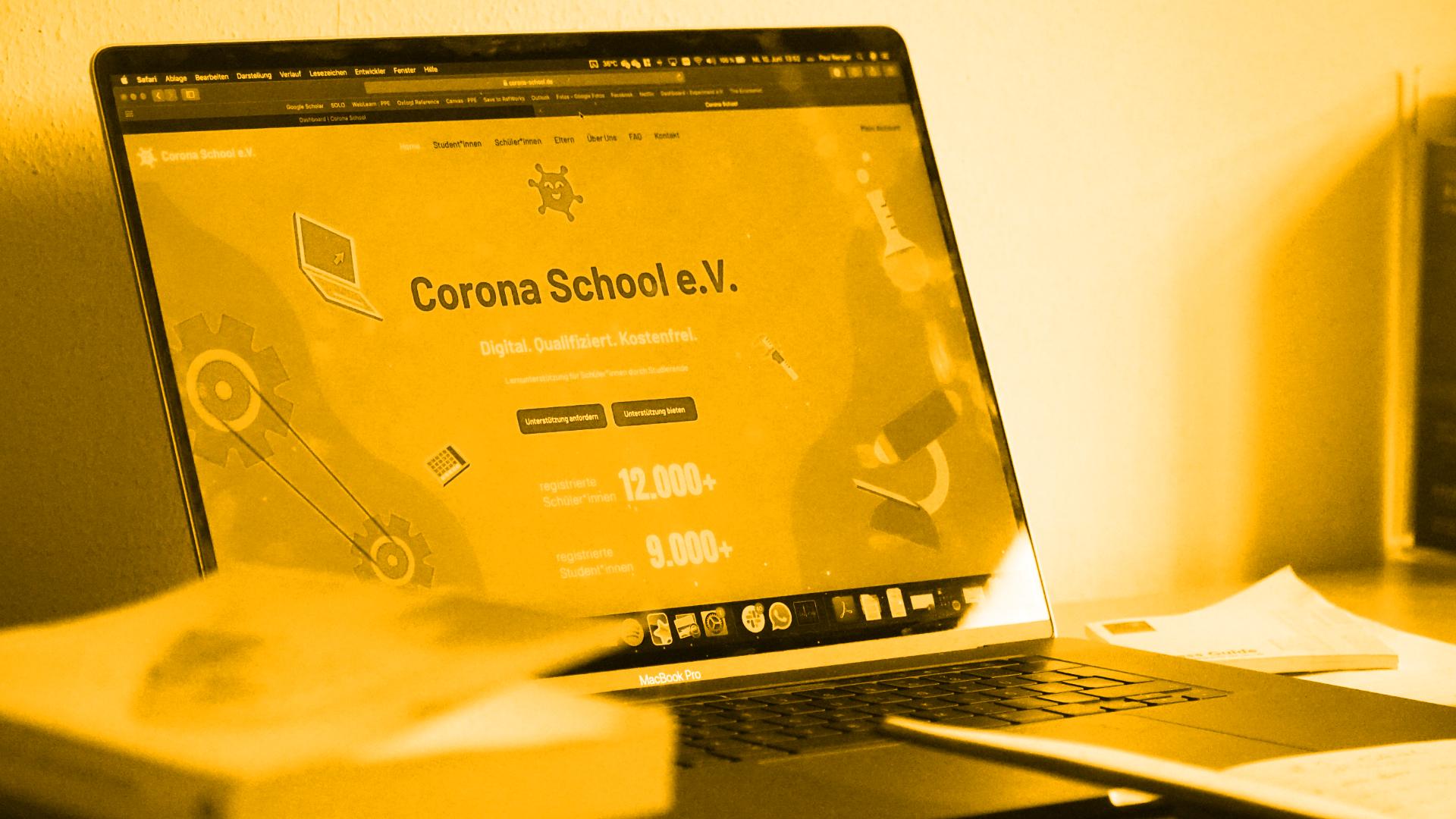 Eine Stunde reicht, um die Bildungsgerechtigkeit zu fördern – die Corona School