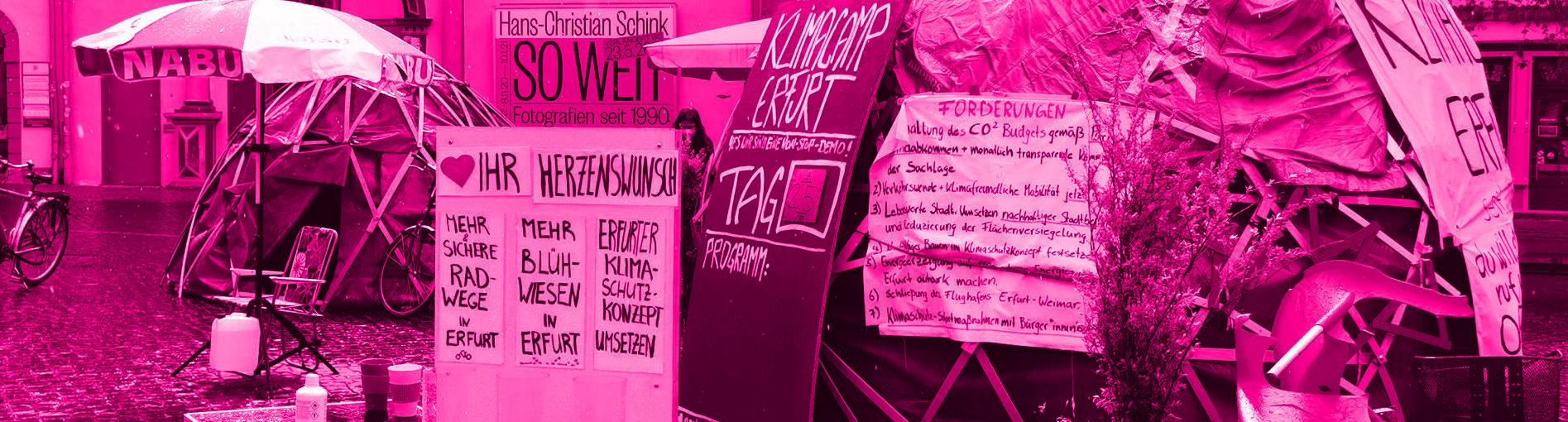 """Erfurt als """"Vorreiter"""" im Klimaschutz?"""